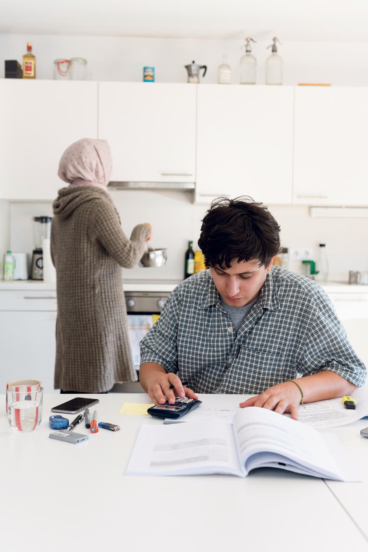 Student, Zuhause, Migrant