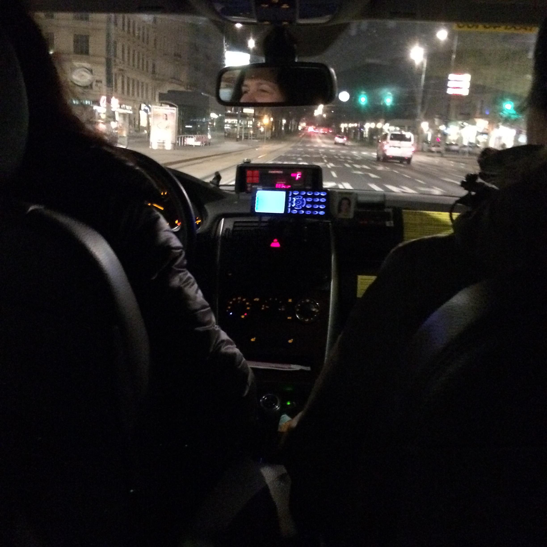 Die Taxifahrt