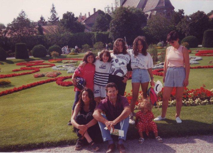 Familie, Vintage, Retro