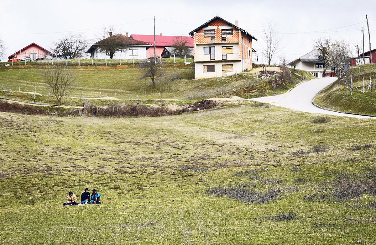 Flüchtlingskrise statt Heimaturlaub
