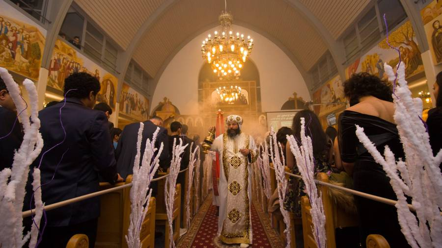 Die koptische Weihnachtsmesse 2018, Foto: Mina Hanna