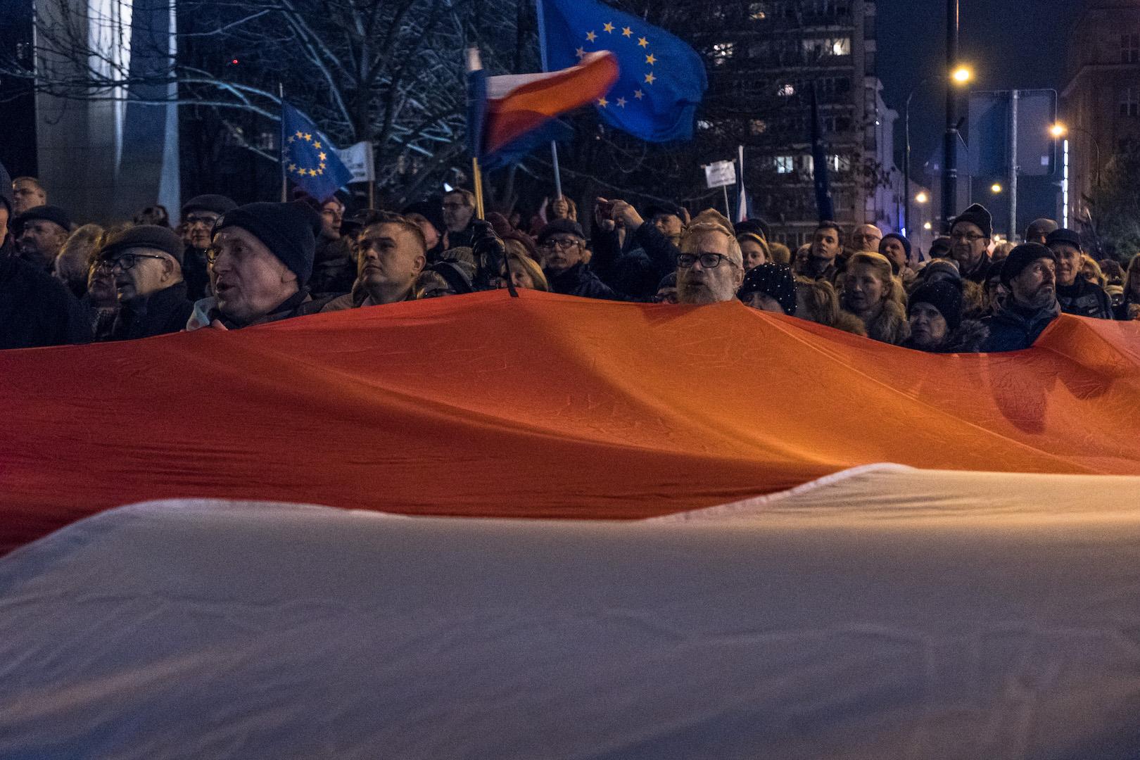 Demo Polen