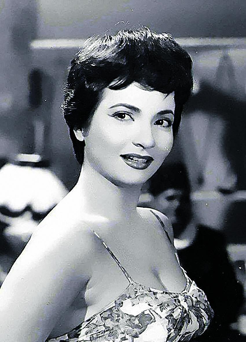 Ägyptische Schauspielerin Shadia, 60er Jahre