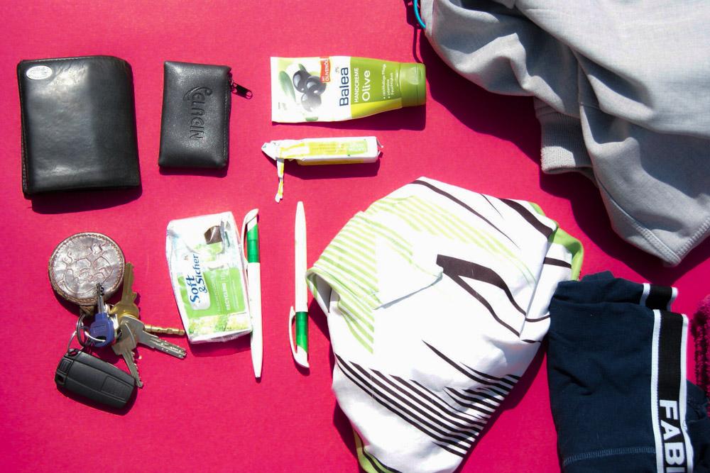 Handtasche Check