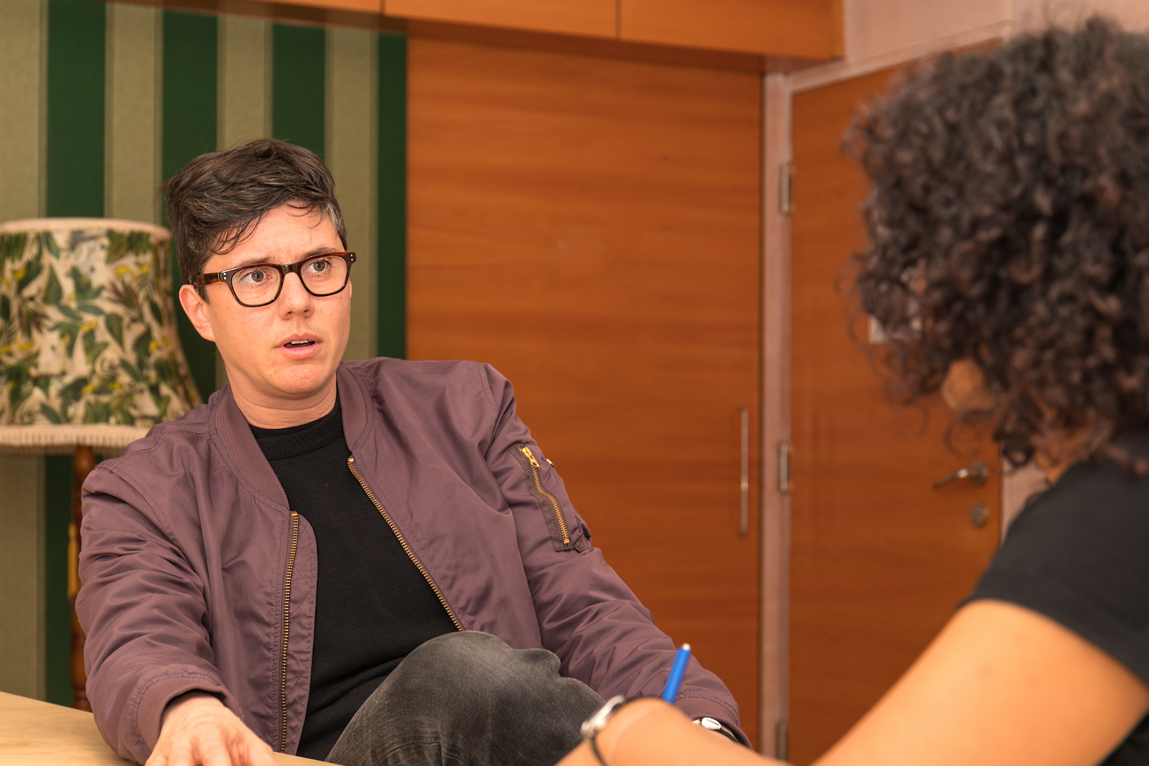 Amahl Khouri im Interview