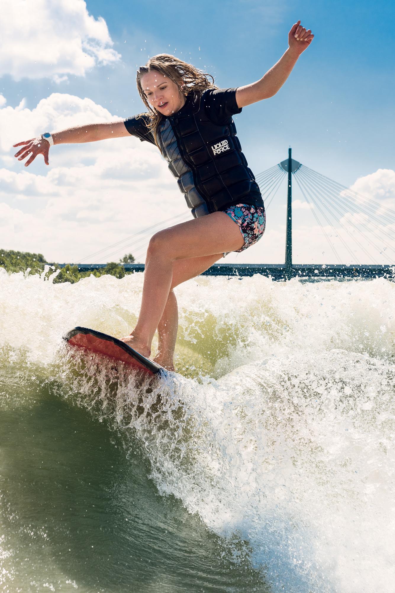 Surfing, Wien, Stadt, Sommersport