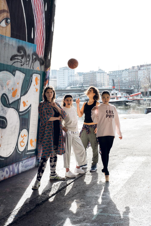 Die Fotos sind in Kooperation mit Wiener Portraits entstanden, unter #VIIEgirlgang gibt es auf Instagram mehr Bilder