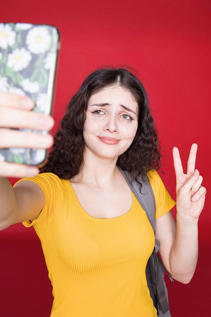 Burn-Out Selfie