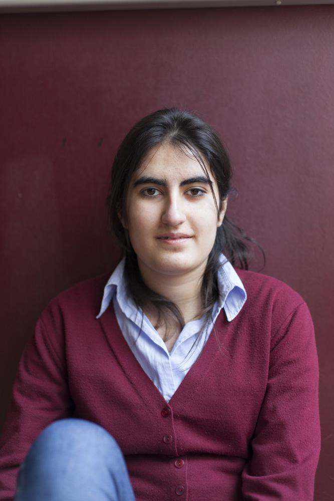 Fikrat, Syrisches Mädchen, Schule, Deutschland, Frechen