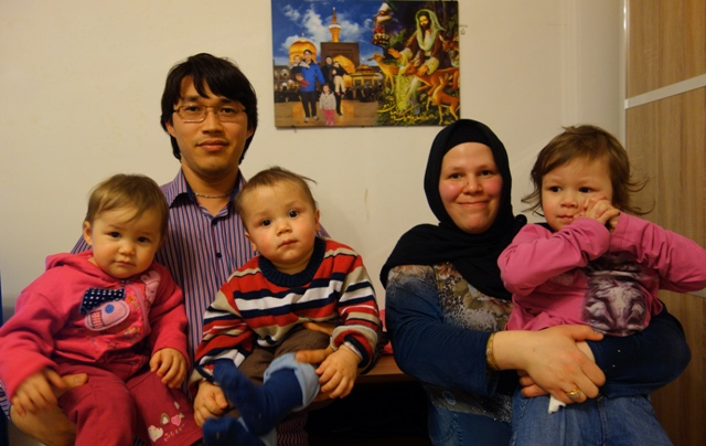 Karimi Familie, Foto: Tanya Kayhan