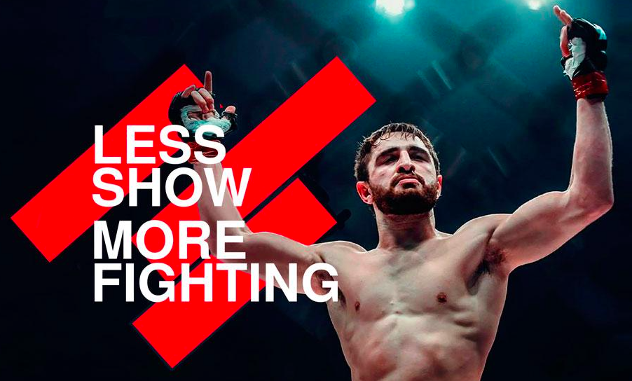 Less Show More Fight