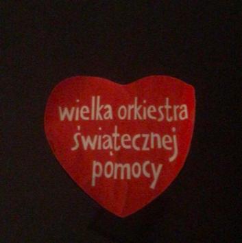 Ein WOSP-Sticker