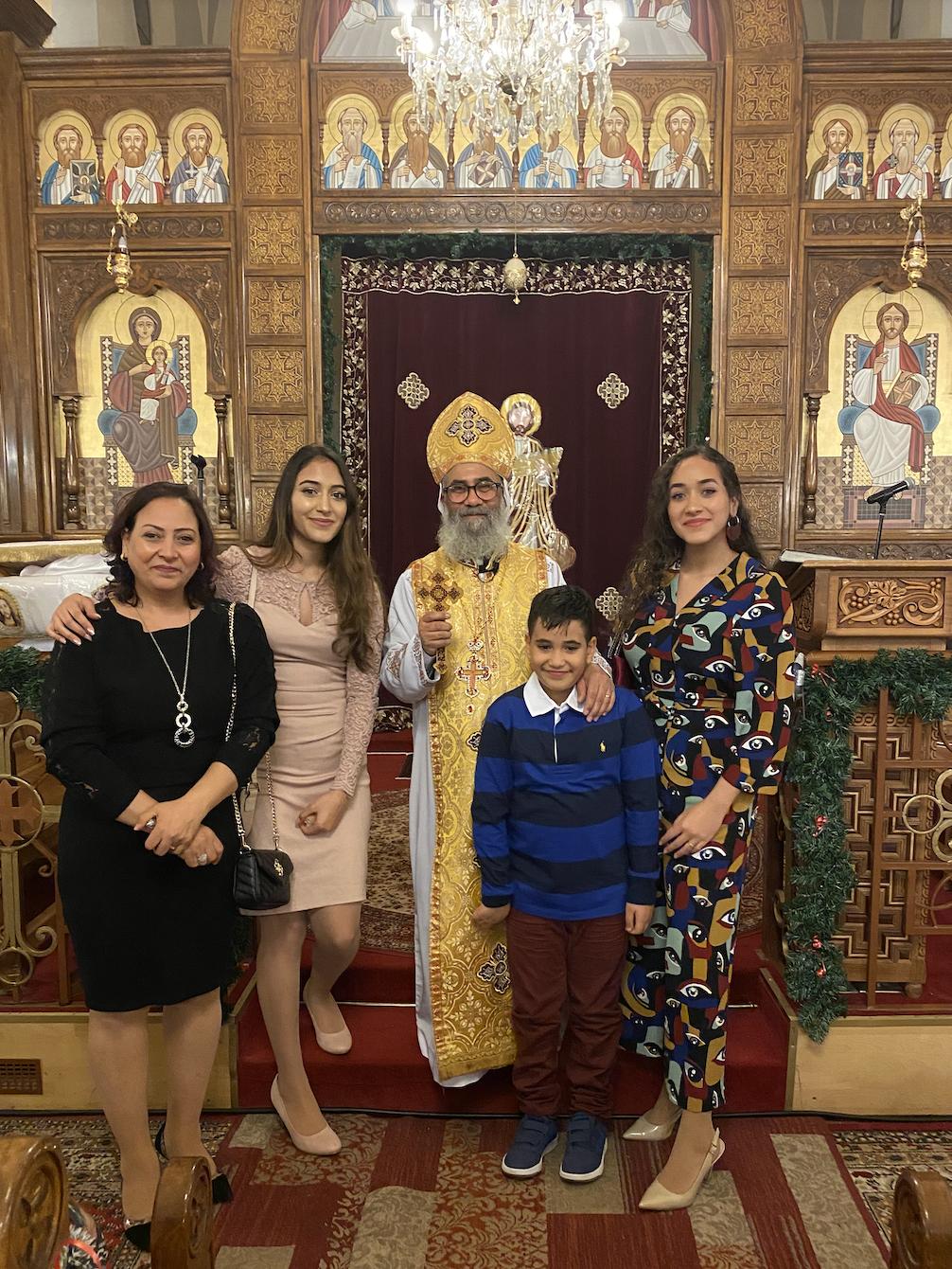 koptisches Weihnachten 2020 - noch ohne Maske und Abstand
