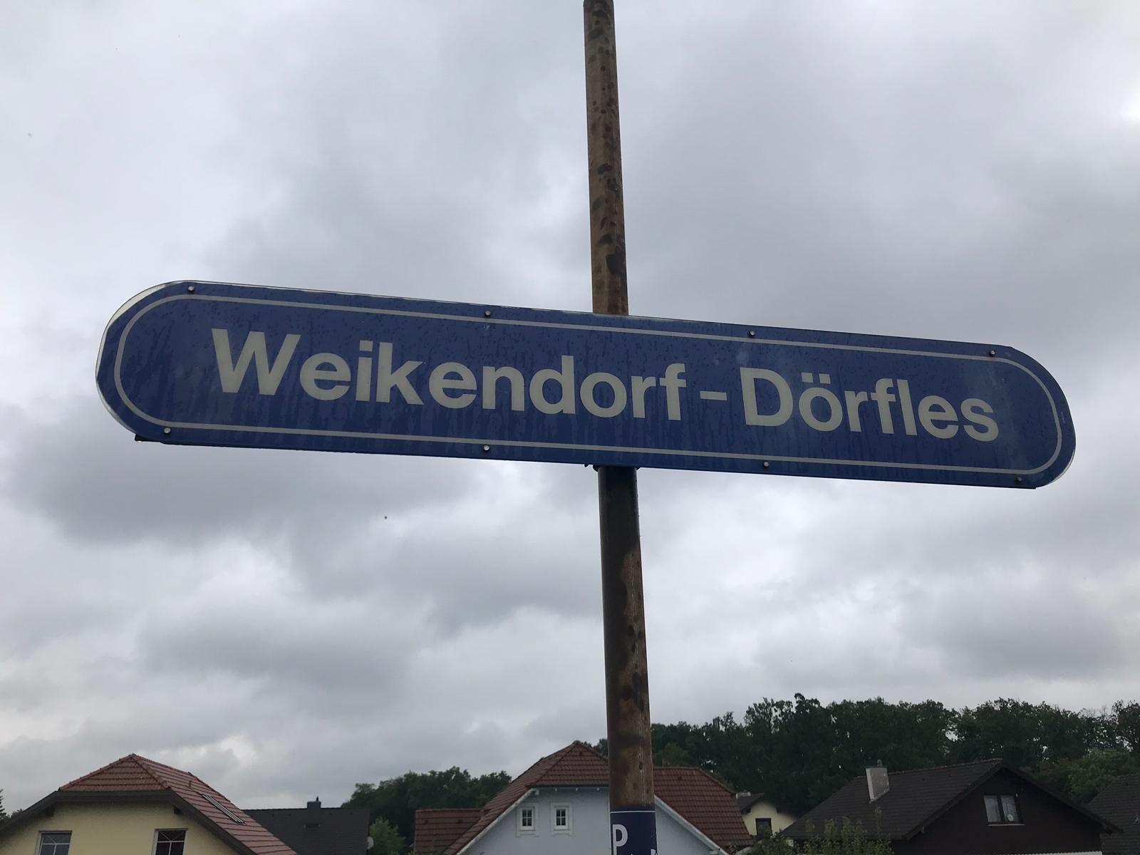 Alte Verbindung zwischen Weikendorf und Drfles wieder