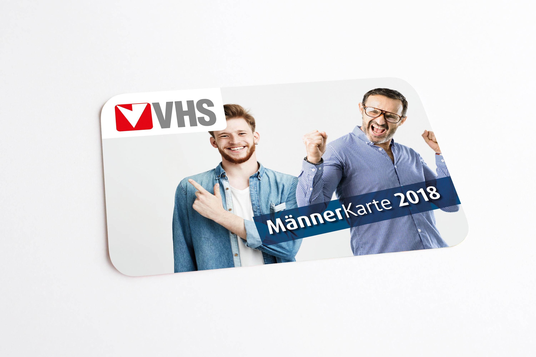 VHS Männerkarte