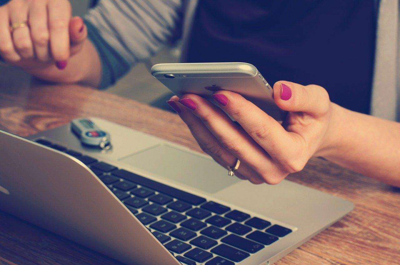 laptop und handy
