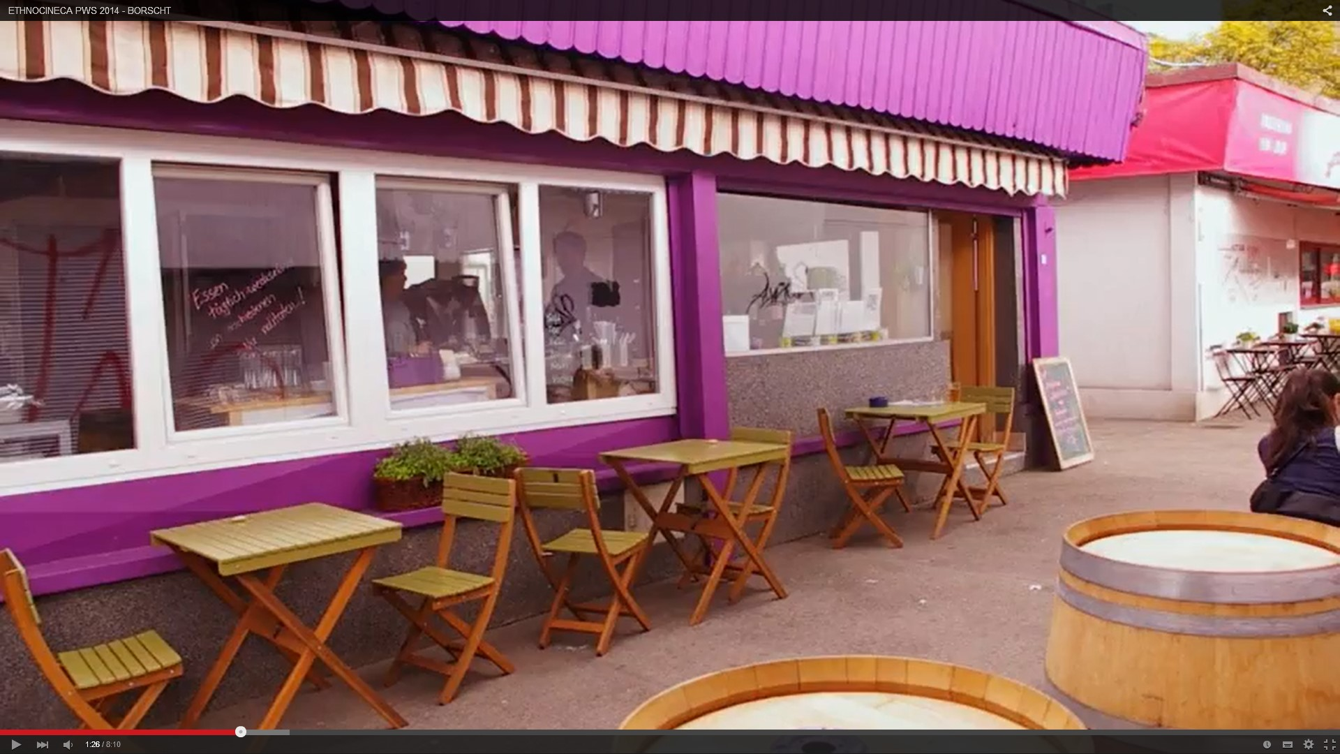 Purple Eat, Kurzfilm
