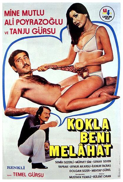 Filmposter für eine türkische Sexkomödie aus den 70ern