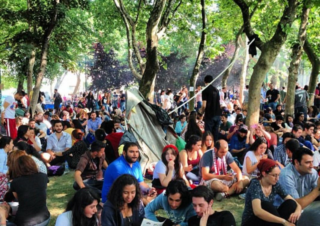 Taksim Gezi-Park aus dem Jahr 2013