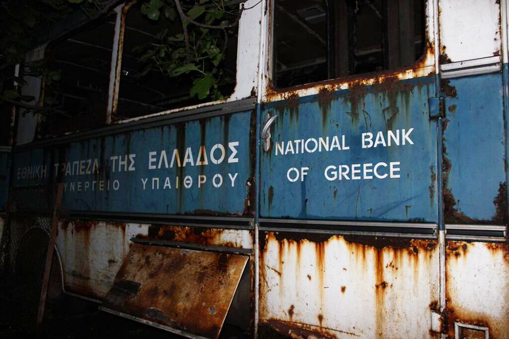 Griechenland, Krise, Bank, Europa