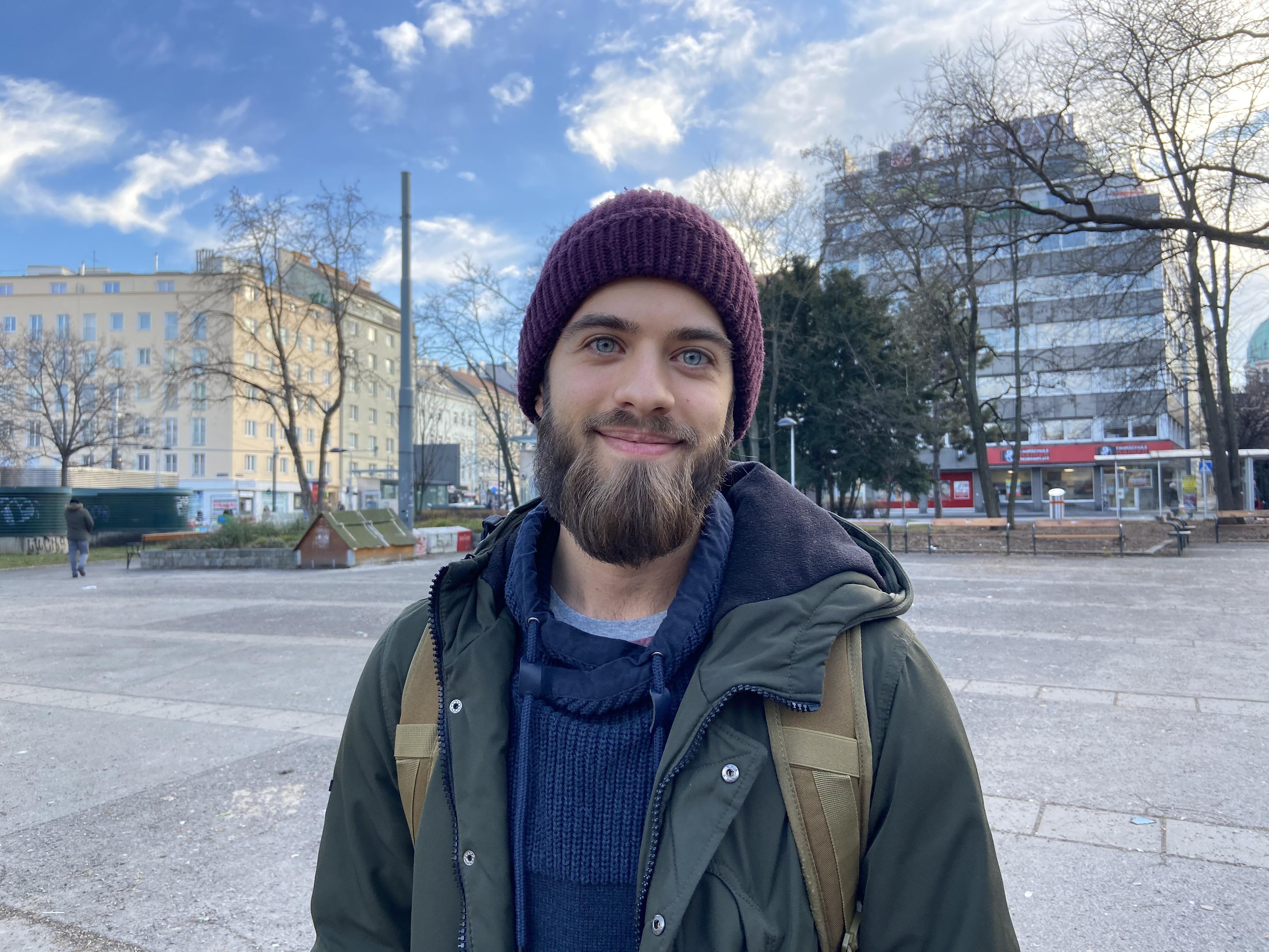 Straßenumfrage Zadic Bojan