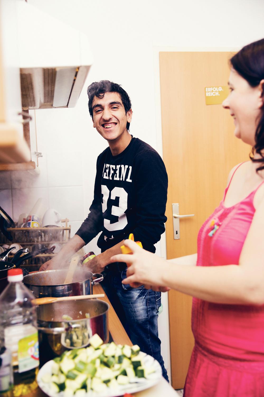 Wohnen mit Flüchtlingen