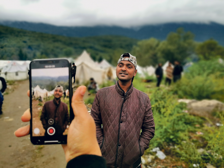 Flüchtling, Camp
