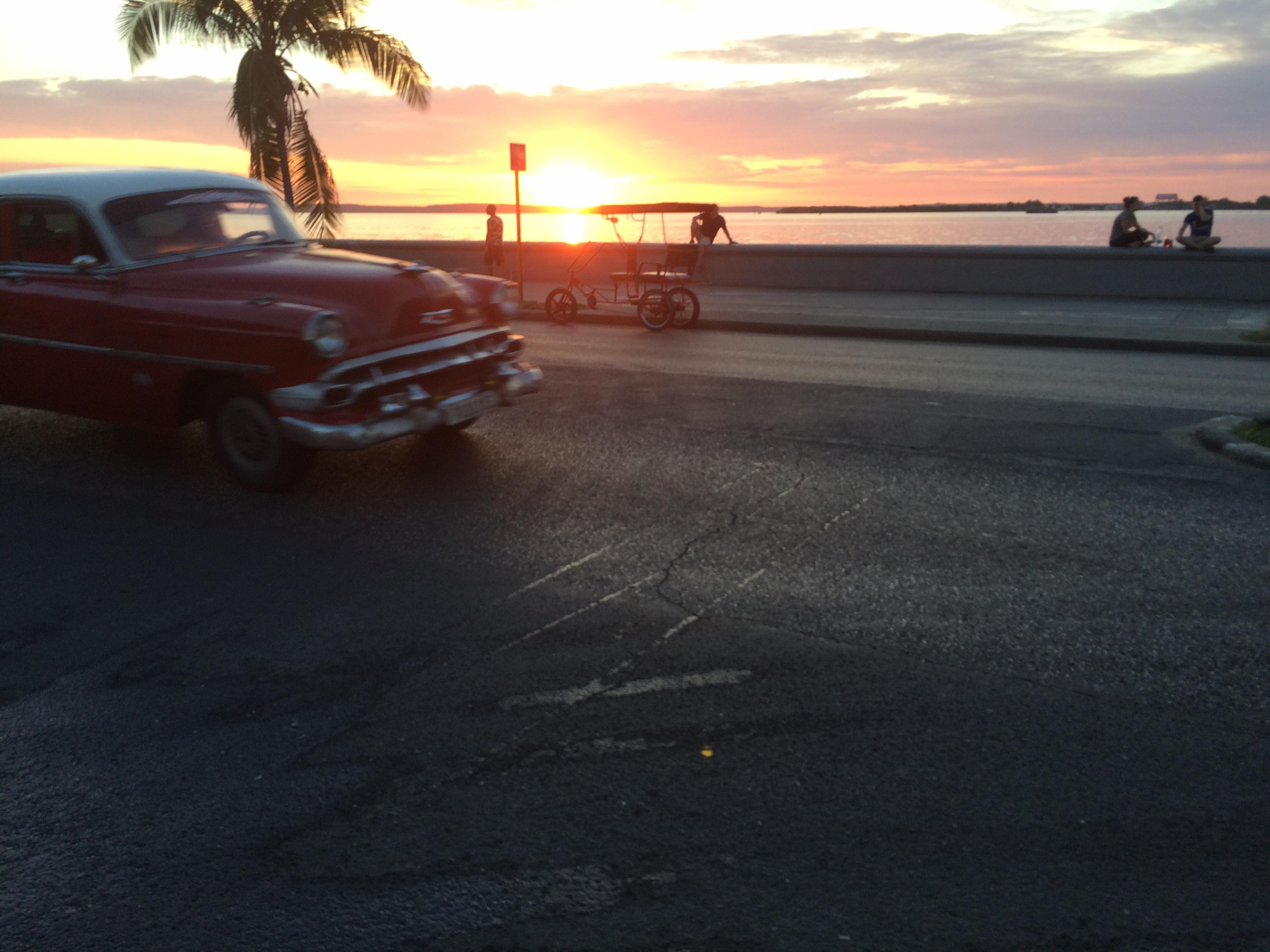 Kuba, Oldtimer, Strand