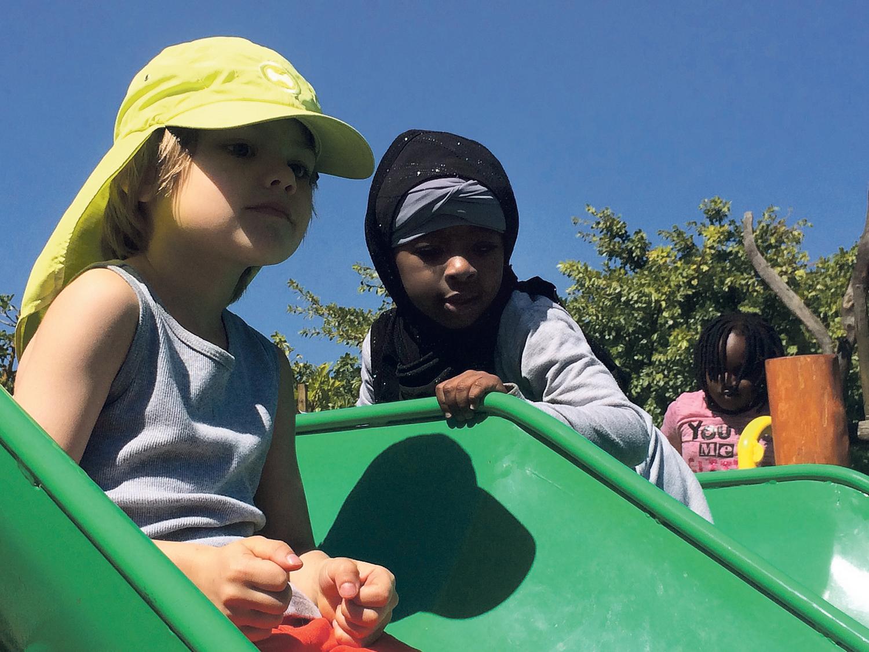 Der Spielplatz im Green Point Park ist einer der besten der Welt