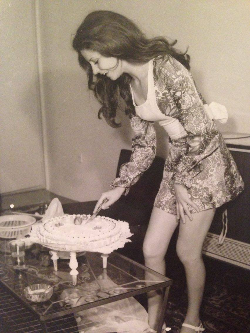 Iranerin in den 70er Jahren