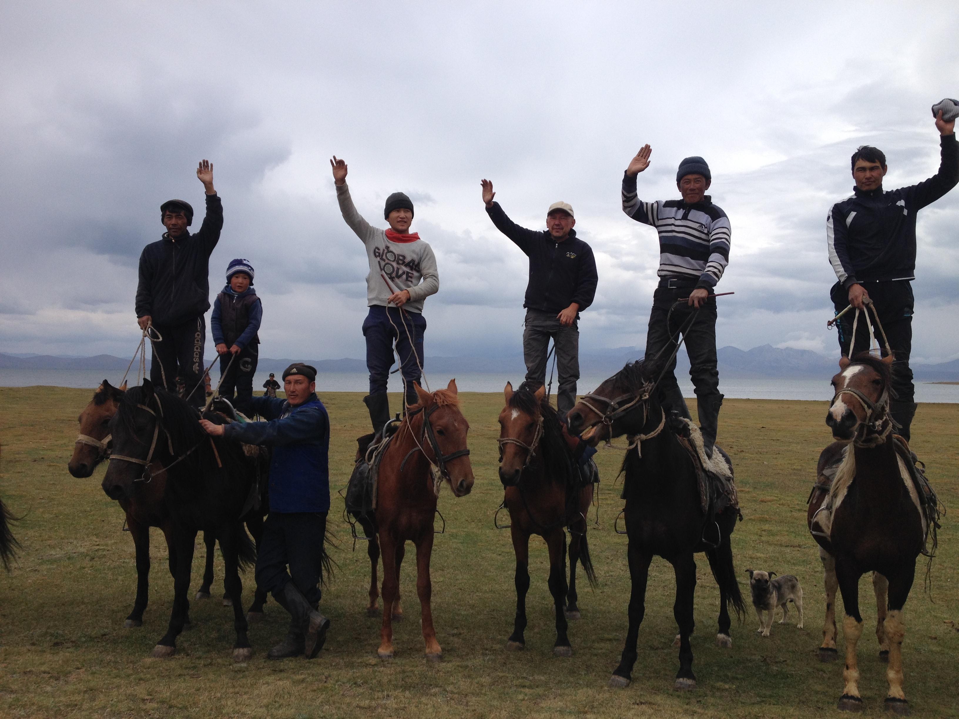 kökböro, Kirgistan
