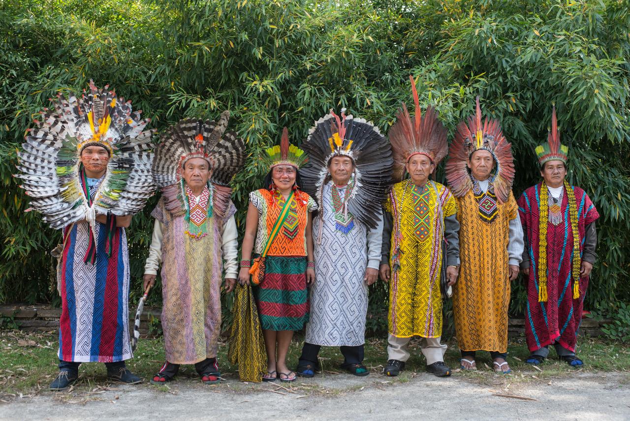 Indianer, Federkrone, Kopftuch