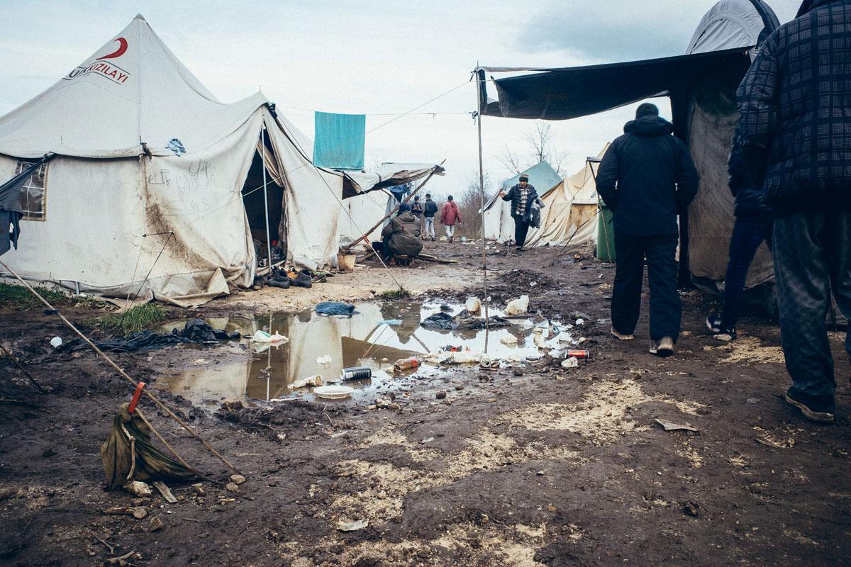 """Das Horrorcamp Vučjak wurde als """"Lager auf der Müllhalde"""" bekannt"""