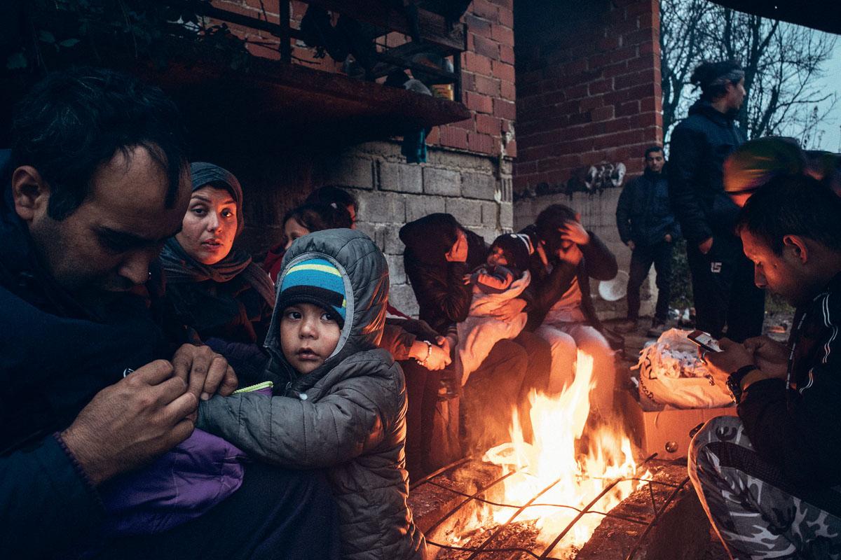 Für immer mehr Familien wird die EU-Außengrenze zum Teufelskreis: Sie können weder rein, noch zurück.