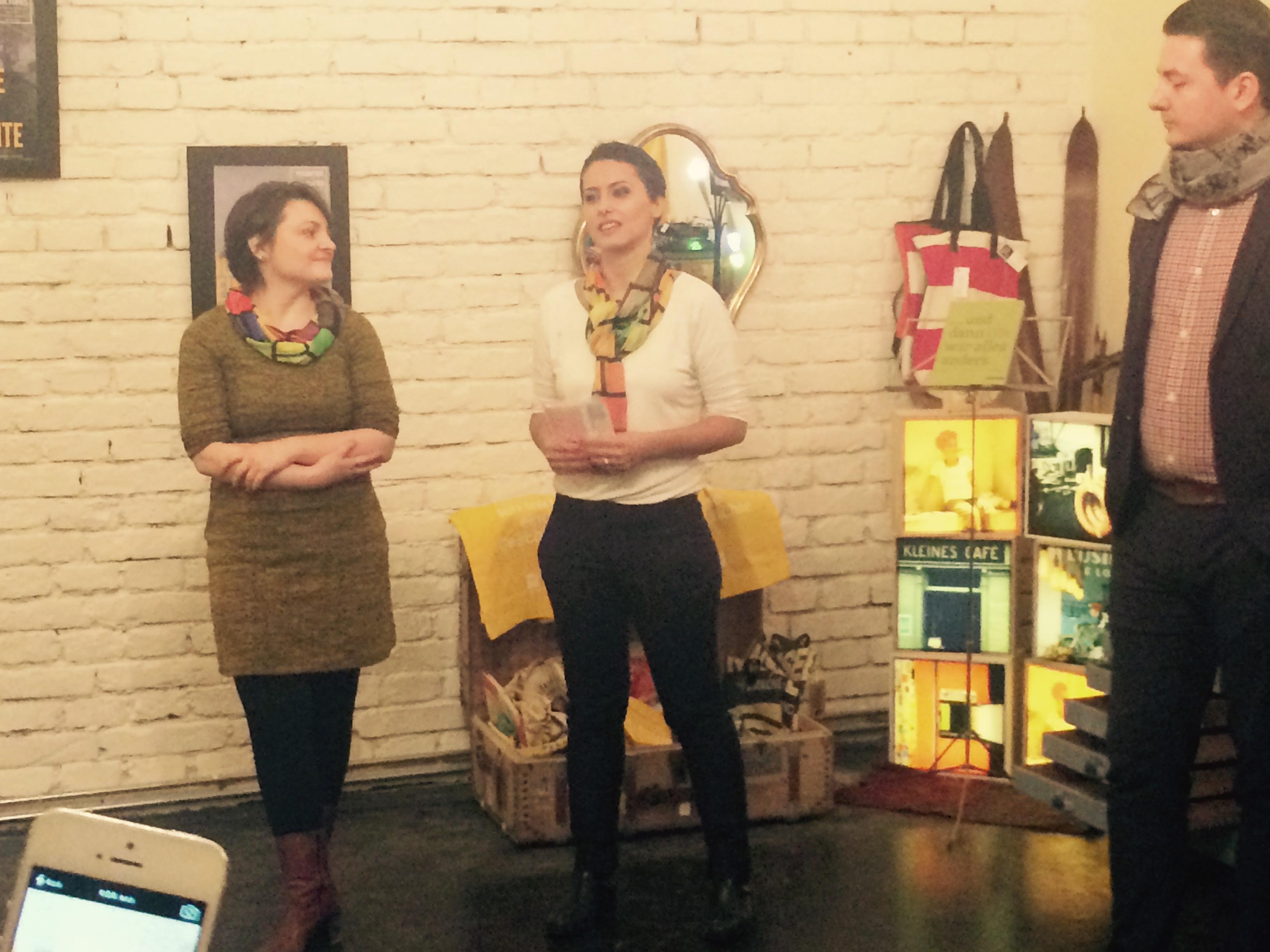 Fashion, Schal, Gründerinnen