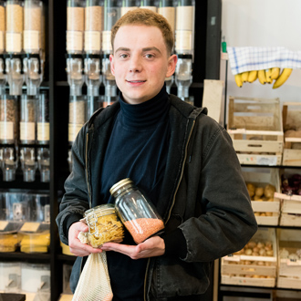 In Lunzerns Maß-Greißlerei geht verpackungsfrei Einkaufen easy. (c): Christoph Liebentritt
