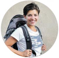 Andrea, Reisekolumnistin, Georgien