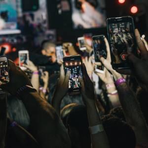 Konzert, Smartphones