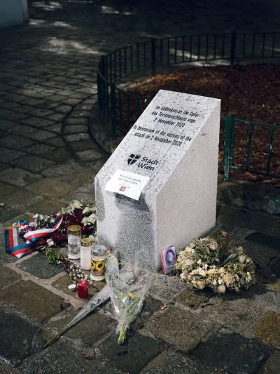Gedenkstein für den Terroranschlag