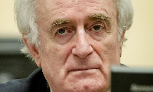 Karadzic, verurteilt, Den Haag, Kriegstribunal