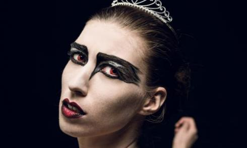 Kostüm Halloween Black Swan