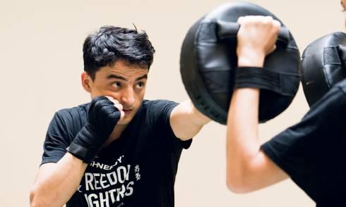 afghanischer kickboxer, ismail