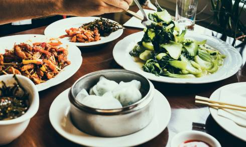 Dim Sum, Chinesisch, Essen, Food, Restaurant
