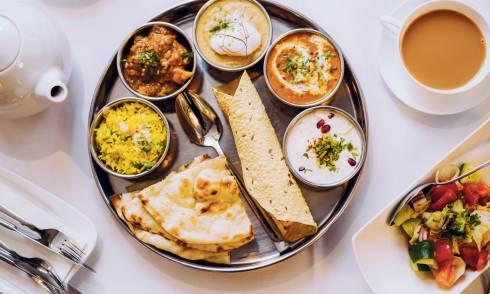Indisch, Essen, Food,
