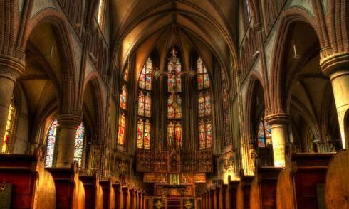 Kirche Religion Masse