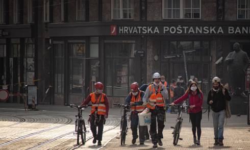 Zagreb nach Erdbeben