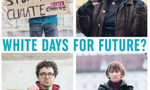 White Fridays for Future Bewegung weiß elitär Elite Klima