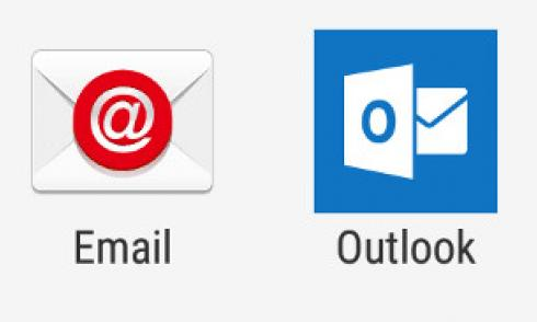 Android Mail und Outlook App