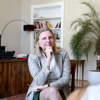 Karin Kneissl im Interview