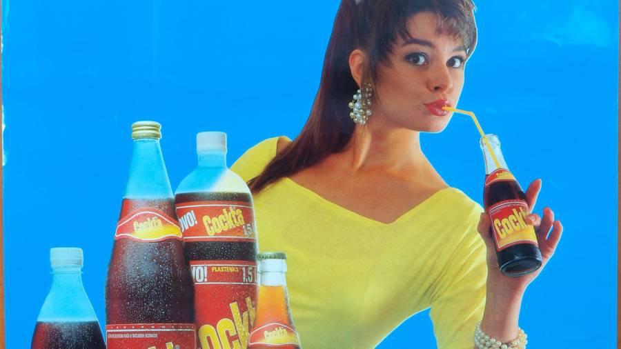 Cockta Retro Plakat